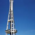 Seattle Space Needle by Adam Romanowicz