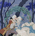 Secret Kiss by Georges Barbier