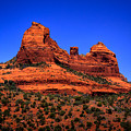 Sedona Rock Formations by David Patterson