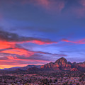 Sedona Sunset by Eddie Yerkish
