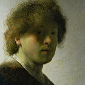 Self Portrait As A Young Man by Rembrandt