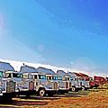 Semi Truckscape 2 by Steve Ohlsen