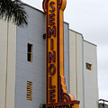 Seminole Theatre 1940 by David Lee Thompson