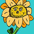 Senny The Sunflower by Jera Sky