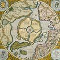 Septentrionalium Terrarum Descriptio by Gerardus Mercator