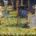 Seurat: Grande Jatte, 1884 by Granger