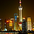 Shanghai By Night by Dorota Nowak