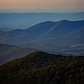 Shenandoah Valley At Sunset by Rick Berk