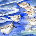 Shore Birds by Rebecca Marona