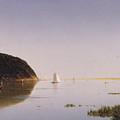 Shrewsbury River - New Jersey by John Frederick Kensett