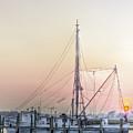 Shrimp Boat Sunset by Drew Castelhano