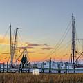 Shrimp Boats by Drew Castelhano