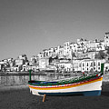 Sicily Fishing Boat  by Jim Kuhlmann