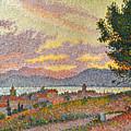 Signac: St Tropez, 1896 by Granger