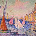 Signac: St. Tropez Harbor by Granger