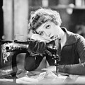 Silent Film Still: Sewing by Granger