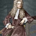 Sir Isaac Newton, British Physicist by Sheila Terry
