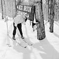 Skier's Telephone by Titchen