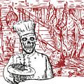 Skull Cook by Aloysius Patrimonio