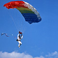 Skydiving - 1 by Randy Muir