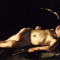 Sleeping Cupid by Pg Reproductions