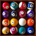 Snooker Balls by Carlos Caetano