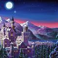 Snow Castle by David Lloyd Glover