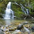 Snow Creek Falls by Idaho Scenic Images Linda Lantzy