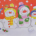 Snow Family by Diane Matthes