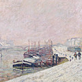 Snow In Rouen by Jean Baptiste Armand Guillaumin