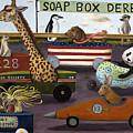 Soap Box Derby by Leah Saulnier The Painting Maniac