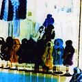 Soho Shop Window Print by Karin Kohlmeier