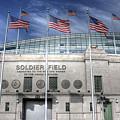 Soldier Field by David Bearden