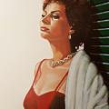 Sophia Loren 2  by Paul Meijering