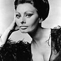 Sophia Loren, In Costume For Arabesque by Everett