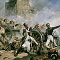 Spanish Uprising Against Napoleon In Spain by Joaquin Sorolla y Bastida