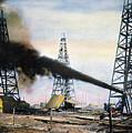 Spindletop Oil Pool, C1906 by Granger