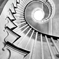 Spiral Staircase Lowndes Grove  by Dustin K Ryan