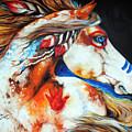 Spirit Indian War Horse by Marcia Baldwin