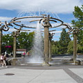 Spokane Fountain by Carol Groenen