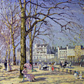 Spring In Hyde Park by Alice Taite Fanner