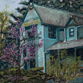 Springtime In Old Town by Mary Benke