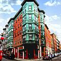 Square In Old Boston by Elena Elisseeva