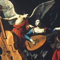 St. Cecilia And The Angel by Granger