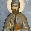 St Efraim Of Nea Makri by Julia Bridget Hayes