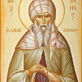 St John Of Damascus by Julia Bridget Hayes