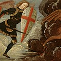 St. Michael And The Angels At War With The Devil by Domenico Ghirlandaio