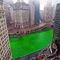 St Patrick's Day Chicago  by Jeff Lewis