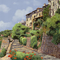 St Paul De Vence by Guido Borelli