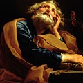 St Peter by Pompeo Girolamo Batoni